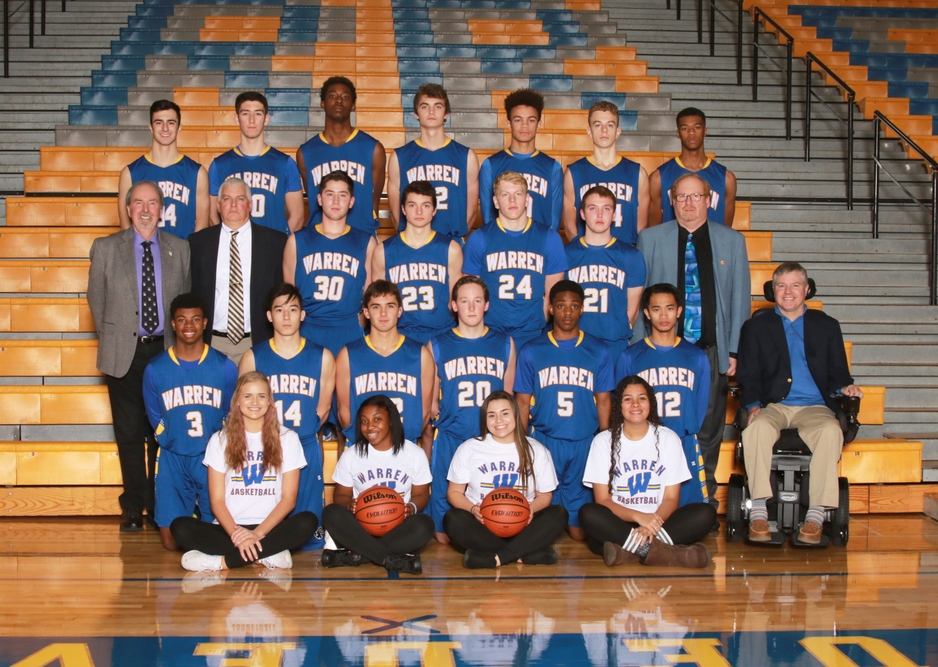 warren high school basketball
